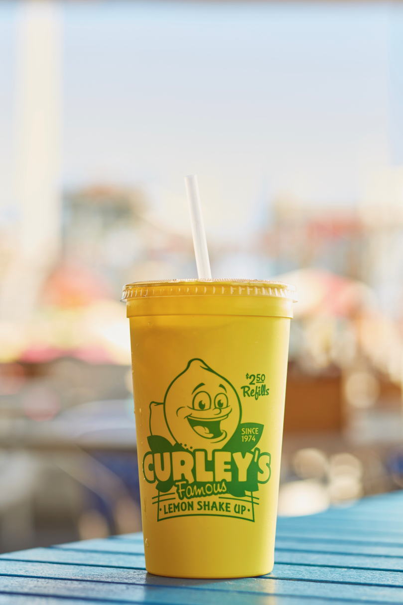 Curley Fries Lemonade
