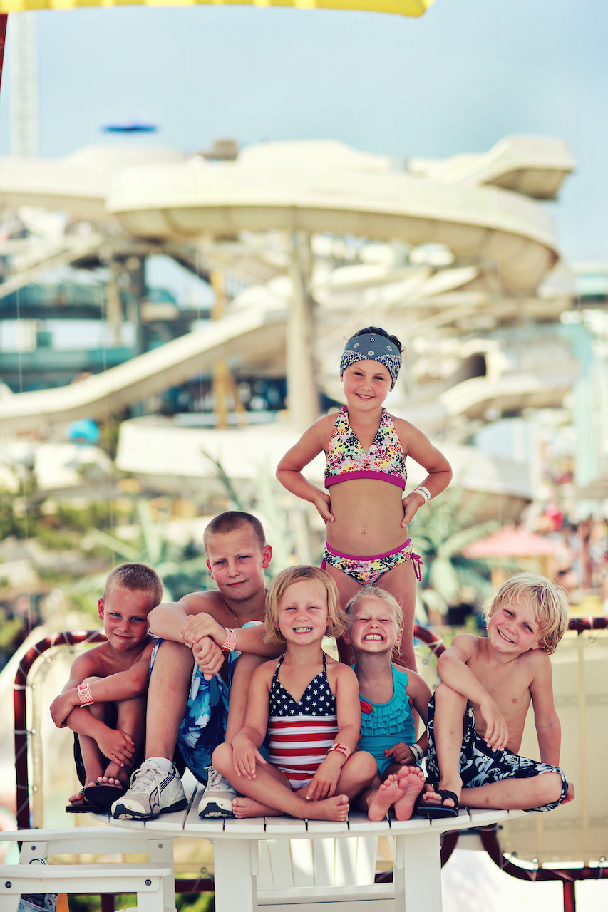 Kids At Water Park Copy