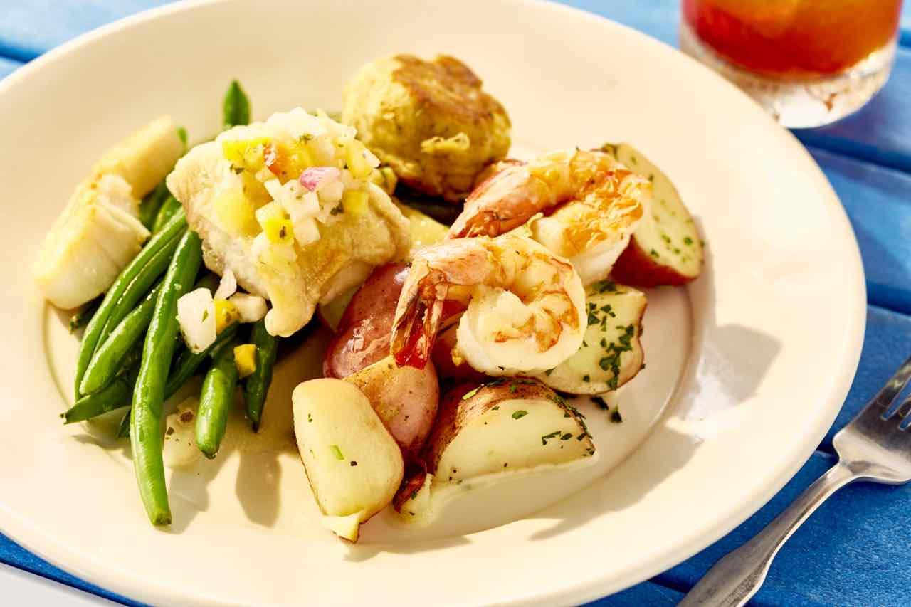 Sauteed Seafood Combo