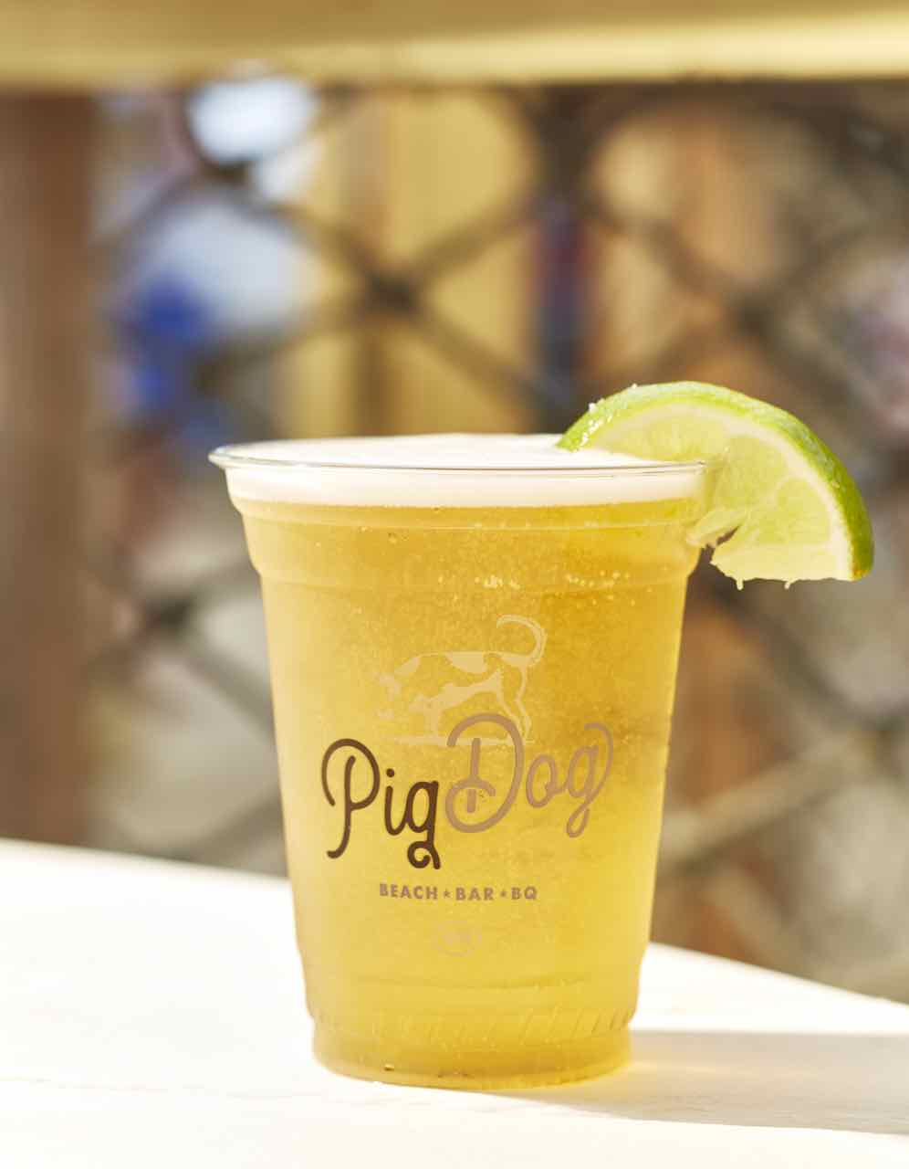 Pig Dog Draft Beer
