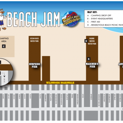 Beachjam Map Img