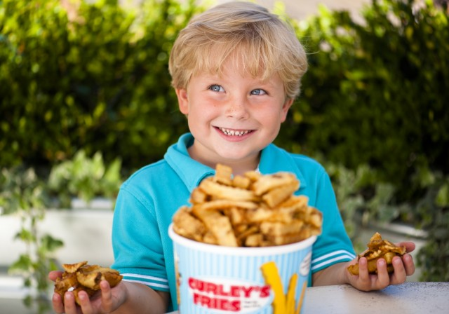 Buckets Of Curley Fry Fun