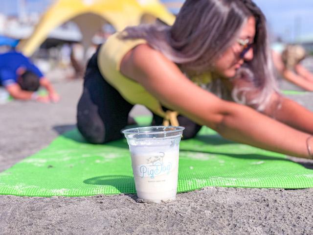 Beach Yoga At Pig Dog30
