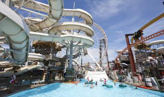 Raging waters water park morey 39 s piers - Pan am pool public swimming hours ...