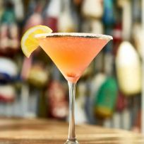 Raspberry Lemon Drop Martini
