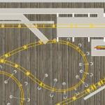 Runaway Tram Aerial 4