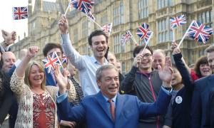 Celebrating Britain leaving the EU