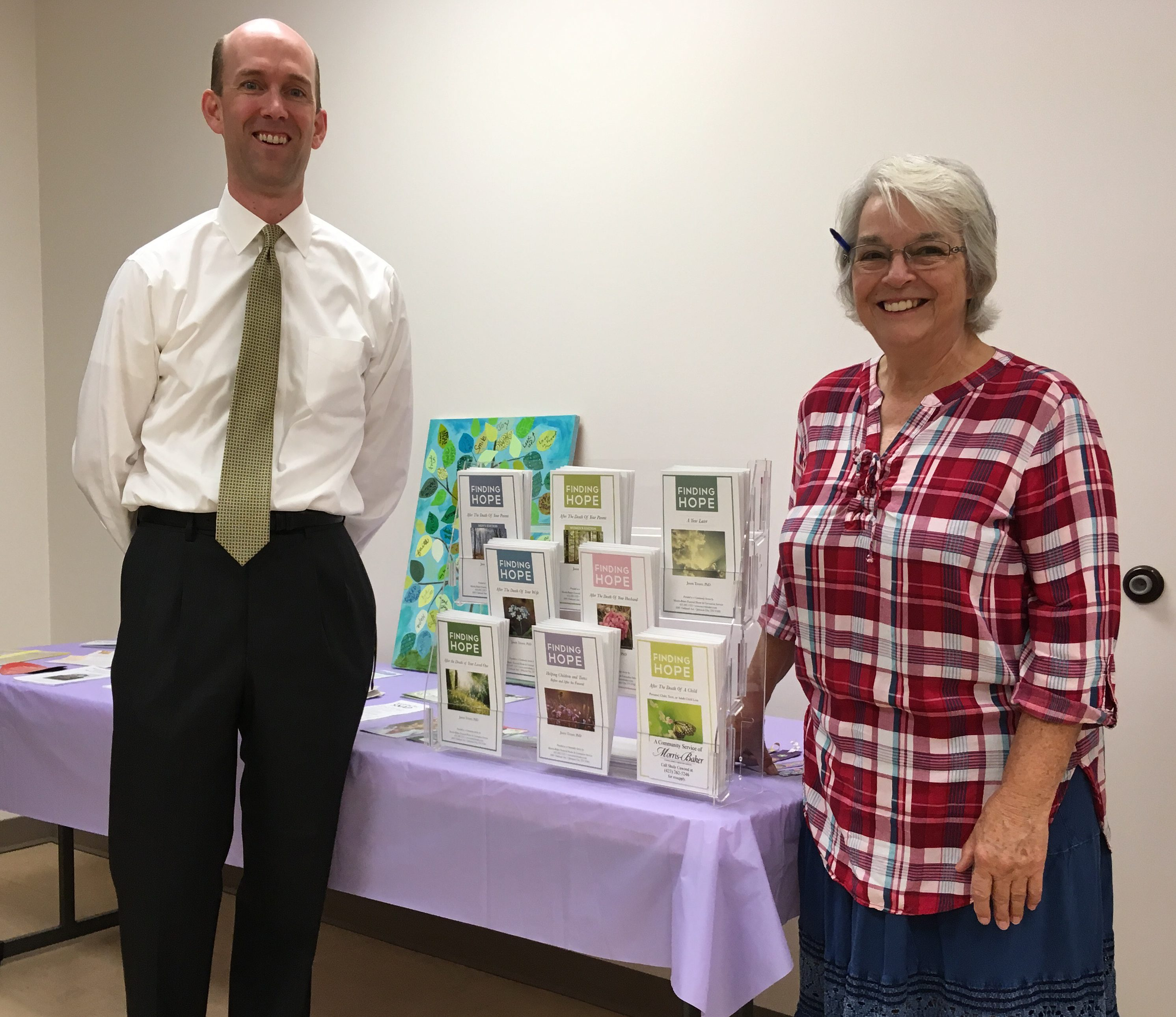 More Grief Support Resources Now Available at Johnson City Senior