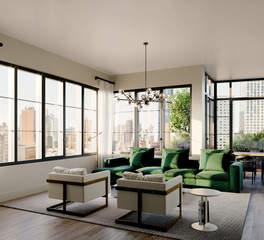 1 Flatbush Ave - Living room