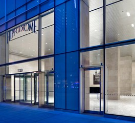 1120 Avenue of the americas vetter stone exterior entrance