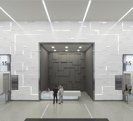 123 N  Wacker Drive - Conceptual Lobby