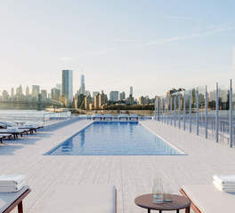 420 Kent Ave - Rooftop with pool