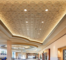 Above View Inc. Conference Room Deco 2 Square Acoustic Ceiling Tile
