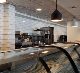 Above View Inc Garza Blanca Hotel Cafe Cloverleaf Flat Center Ceiling Design
