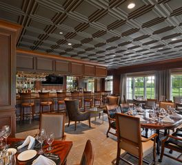 Above View Inc Meridian Hills Country Club Dining Bar Seating