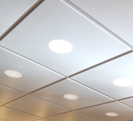 Acoustical Surfaces Silk Metal™ Ceiling panels