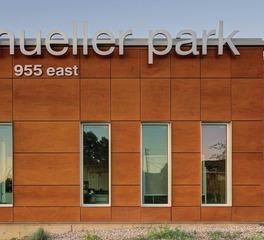 acuity brands Mueller Park Junior High exterior signage