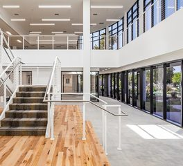 acuity brands rutherford road building office stairway
