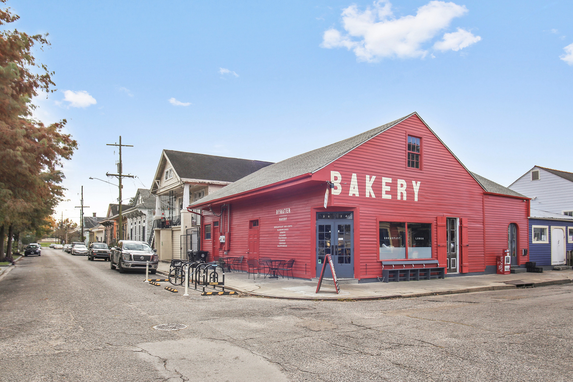 Adamick Architecture Bywater Bakery retail restaurant
