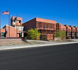 Adolfson and peterson construction Tolleson Fire Station   Administration Building exterior