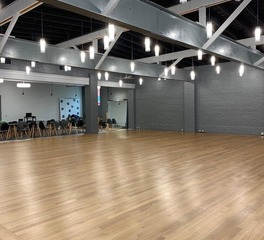 Allegheny Mountain Hardwood Flooring White Oak RQ Clear Grade Long Length Arthur Murray Dance Studio