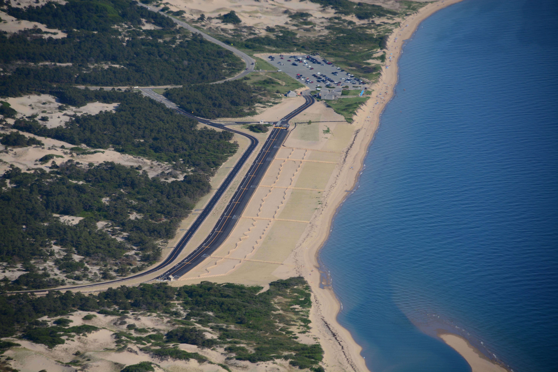 Allen and major herring park aerial