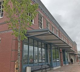 allen and major newburyport intermodal transit parking facility exterior