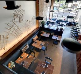 Alma Restaurant Diversified Construction Dining Area