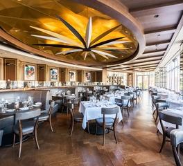 Antunovich Associates Gibsons Italia Chicago Illinois Dining Area