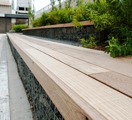 Arbor Wood Outdoor seating Braemar 8999