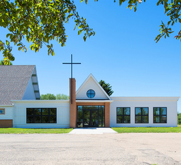 Ascension Lutheran Church CHA Architecture and Construction Church Design Exterior