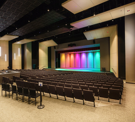 Auditorium flooring and acoustical products