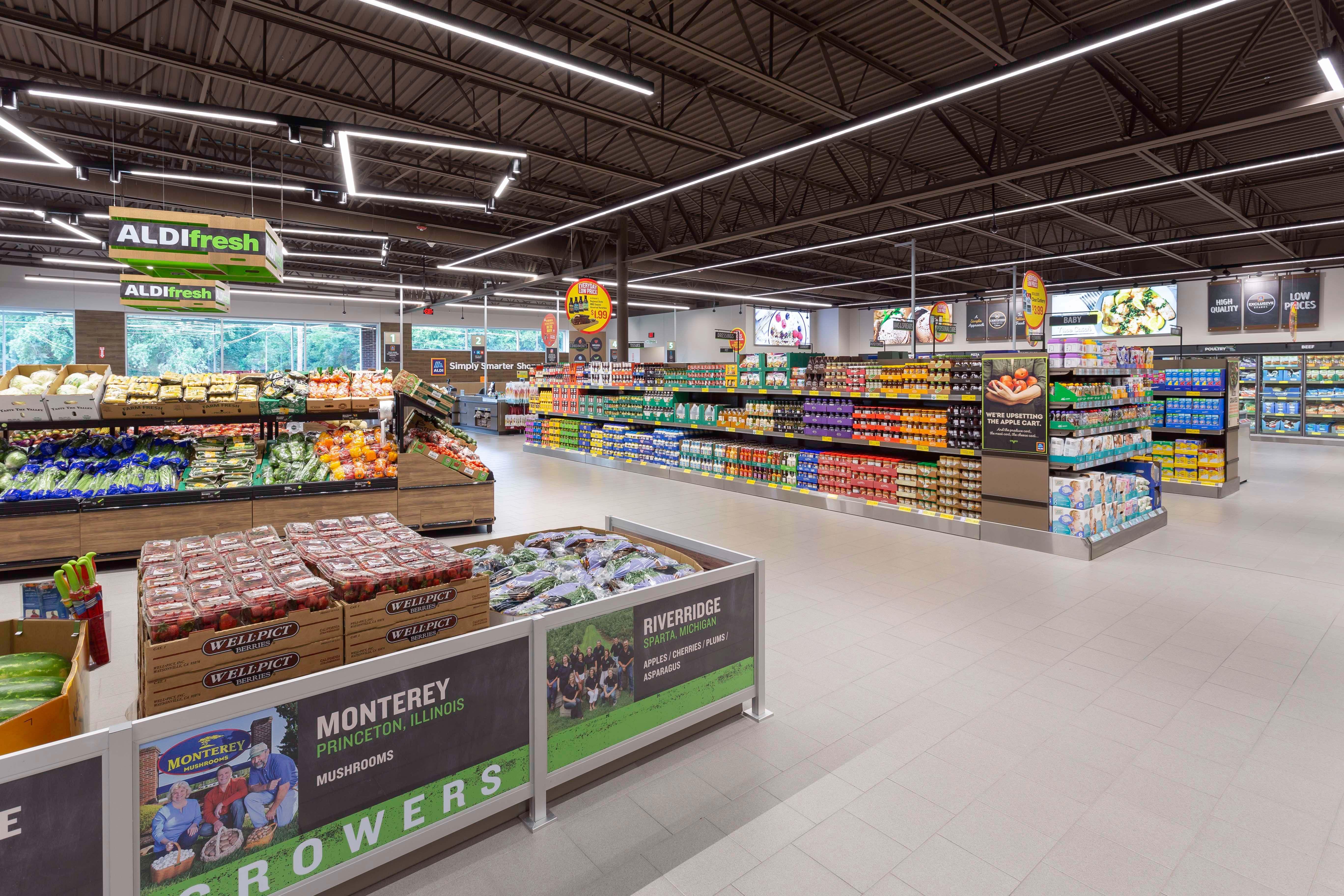 Bauer Design Build ALDI Grocery Store