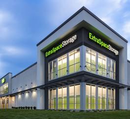 Bauer Design Build Extra Space Storage  Exterior Elevation