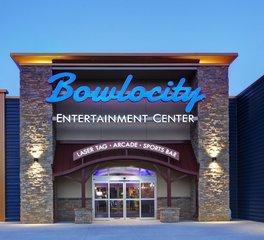 Benike construction Bowlocity Entertainment Center Exterior