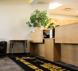 Bergland and cram clear lake high school front office design