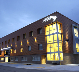bergland + Cram hanock county health system addition exterior