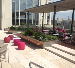 Bison Innovative Products American Psychological Association Headquarters Rooftop Patio Design