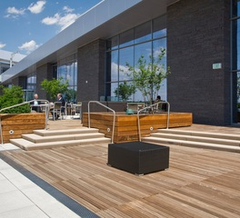 Bison Innovative Products DaVita Headquarters Rooftop Terrace Design