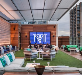 Bison Innovative Products Kimpton Tryon Park Hotel Rooftop Lounge Design