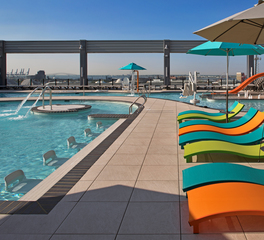 Bison Innovative Products Merritt Athletic Club Rooftop Swimming Pool Design