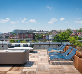 Bison Innovative Products Reed Row Rooftop Patio Design