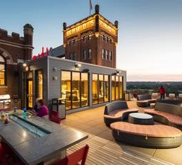 Bison Innovative Products Schmidt Artist Loft Rooftop Patio Design