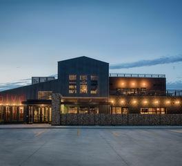 BLVD Fargo North Dakota CHA Architecture and Construction Restaurant Bar Dining Design Exterior Design