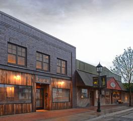 Brew Perham Minnesota CHA Architecture and Construction Restaurant Bar Exterior Design