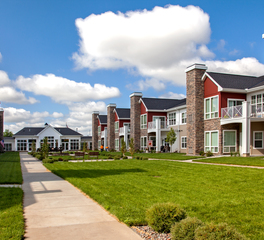 CBS Construction Services Inc Rochester West Independent Living Memory Care Senior Living Rochester Minnesota Exterior