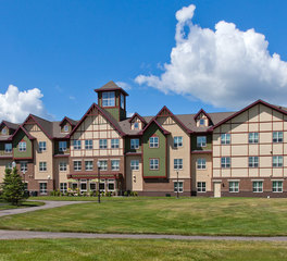 CBS Construction Services Inc. Senior Living Design Homestead at Anoka Minnesota Exterior Finish