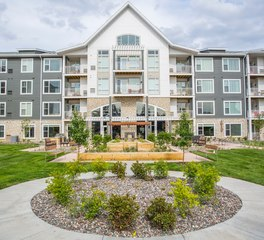 CBS Construction Services Inc The Legends of Champlin Senior Living Champlin Minnesota Senior Living Construction Exterior