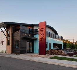 CHA Architecture and Construction Hub41 Detroit Lakes Minnesota Restaurant Design Exterior