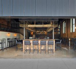 City Brew Hall CHA Architecture and Construction Interior Bar Restaurant